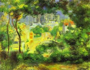 Pierre-Auguste Renoir - View of the New Building of the Sacre-C£ur