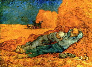 Vincent Van Gogh - Noon, Rest From Work (After Millet) [188