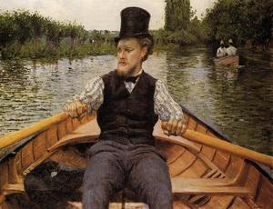 Gustave Caillebotte - Boating Party