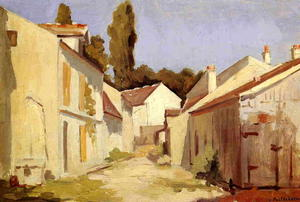 Gustave Caillebotte - Yerres, Close of the Abbesses