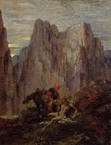 Gustave Moreau - The Good Samaritan