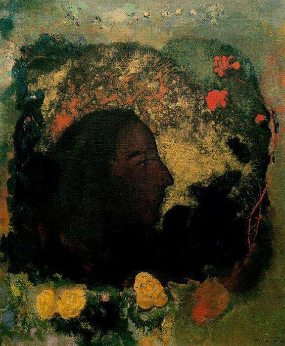 famous painting Paul Gauguin of Odilon Redon