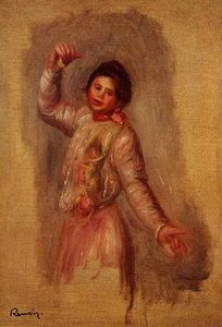 Pierre-Auguste Renoir - Dancer with Castenets