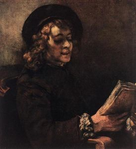 Rembrandt Van Rijn - Titus Reading