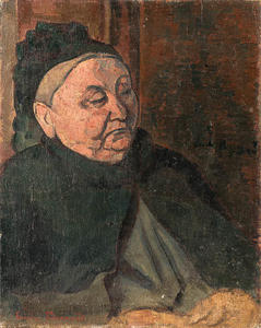 Emile Bernard - The grandmother of the artist