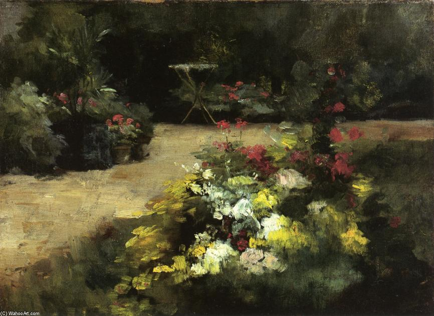 famous painting The Garden of Gustave Caillebotte