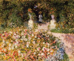 Pierre-Auguste Renoir - The Garden (also known as In the Park)