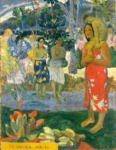 Paul Gauguin - Ia Orana Maria (also known as Hail Mary)