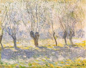 Claude Monet - Willows, Giverny