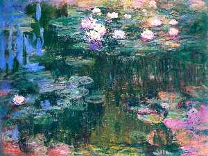 Claude Monet - Water Lilies (52)