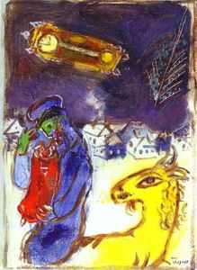 Marc Chagall - A jew with Torah