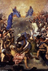 Tiziano Vecellio (Titian) - The Trinity in Glory