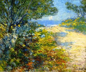 Frederick Childe Hassam - Road to the Sea