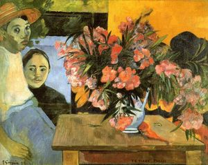 Paul Gauguin - Te Tiare Arani (also known as Flowers of France)