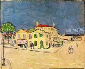 Vincent Van Gogh - 'Vincent's House in Arles (also known as The Yellow House)'