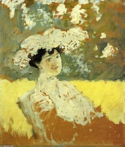 Jean Edouard Vuillard - Woman with a Hat