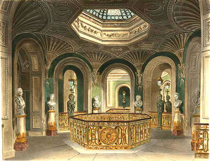 Charles Wild - Carlton House, Gallery Of The Staircase