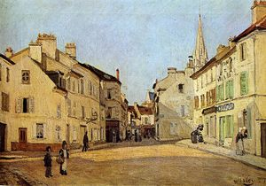 Alfred Sisley - Place in Argenteuil Sun