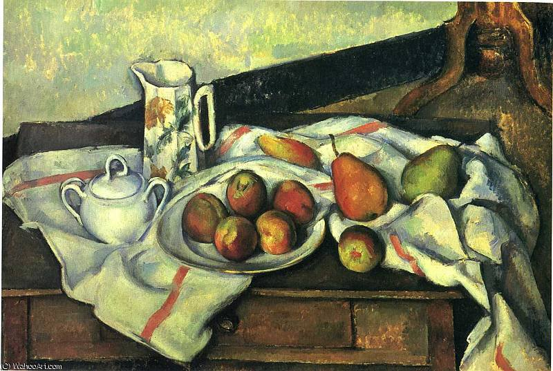 famous painting untitled (3729) of Paul Cezanne