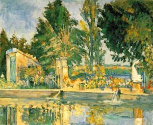 Paul Cezanne - Jas de buffan, the pool,c.1876, eremitaget